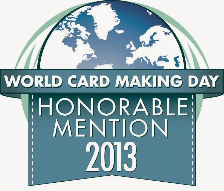 World Cardmaking Day Honorable Mention