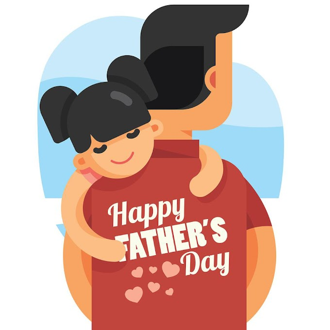 Happy Fathers Day Illustration free vector