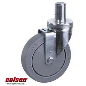 Bánh xe đẩy cao su trục tròn Colson Mỹ phi 125 - 5 inch | 2-5651-448 www.banhxepu.net