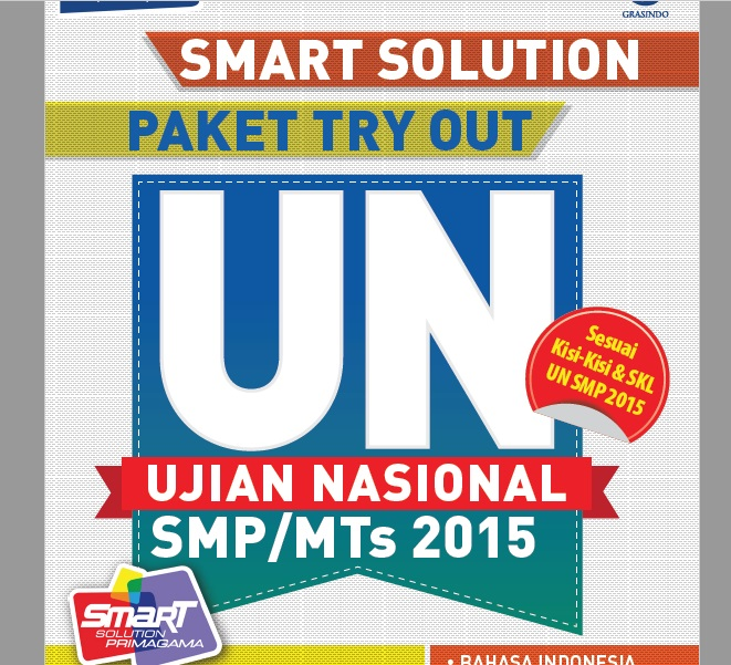 Smart Solution Paket Try Out Ujian Nasional SMP/MTs