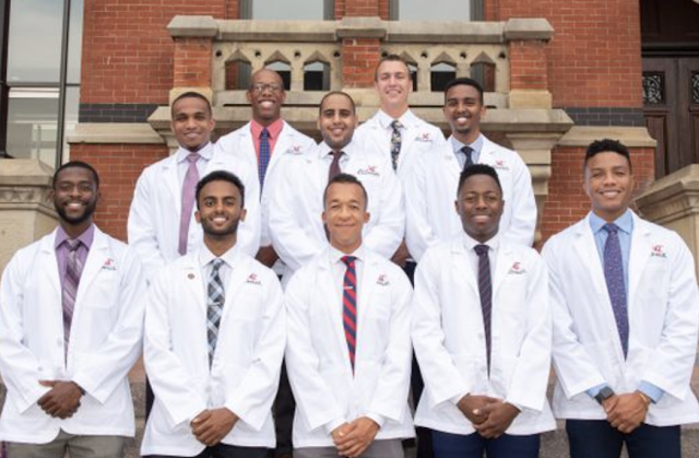 African-American enrollment in medical school lags other groups