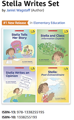 Stella Writes is moving to Scholastic!  Plus, a Stella Writes giveaway!