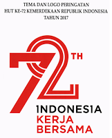 Download Pedoman Peringatan HUT ke-72 Kemerdekaan RI Tahun 2017, Download Tema dan Logo, Download Pedoman Penggunaan Identitas Visual, Download Turunan Logo untuk Merchandise HUT ke-72 Kemerdekaan RI Tahun 2017