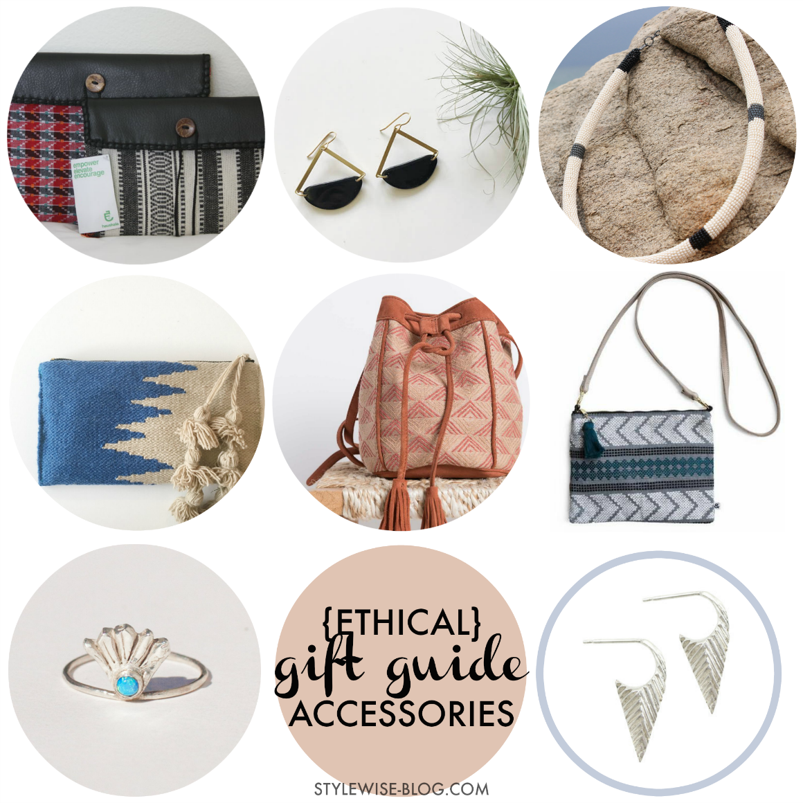 Ethical Gift Guide - artisan made accessories