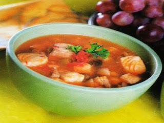 Gambar Resep Sup Ikan kakap Asam Pedas