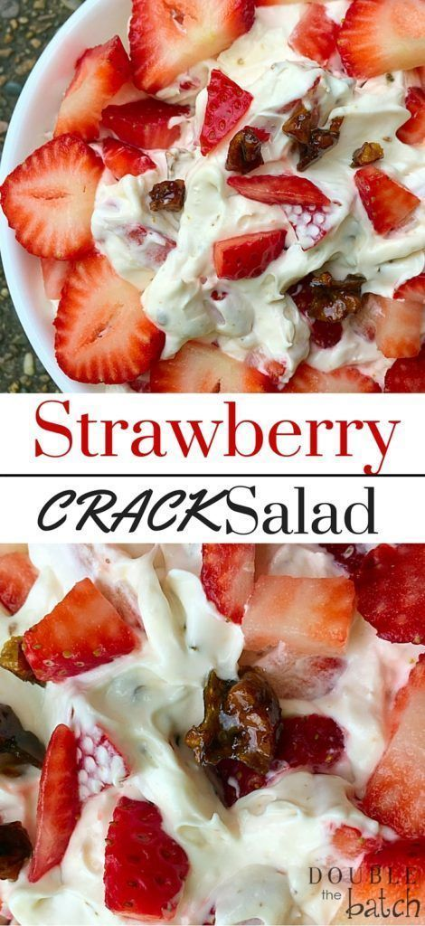 Strawberry Dessert Salad Recipe