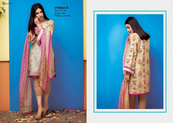 Satrangi Summer Affair Lawn Vol-1 2017-2018 Collection