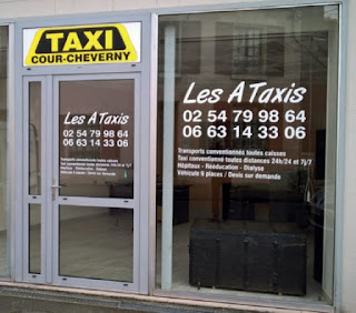 Les A Taxis à Cour-Cheverny