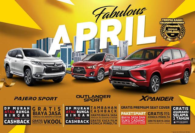 Program Penjualan Mitsubishi Bintaro April 2019