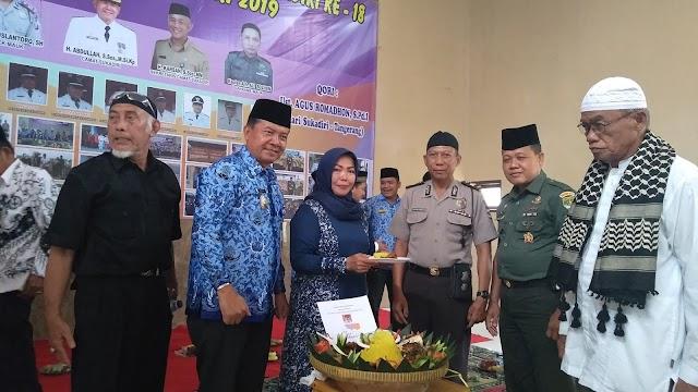 """Peringati Hari Jadi Ke 18 Kecamatan Sukadiri Gelar Tasyakuran """" Sukadiri Tampil Beda"""""""