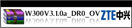 zte zxv10 w300 firmware