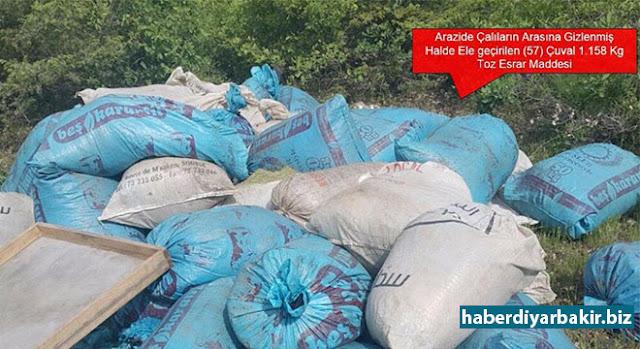 DİYARBAKIR-Diyarbakır Valiliği tarafından yapılan açıklamada, 17 Mayıs itibariyle Lice ve Eğil ilçelerine yönelik uyuşturucu operasyonları gerçekleştirildiği belirtildi.