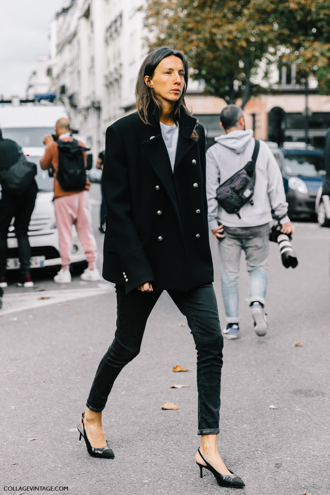 Street Style Pfw Spring 2017 Cool Chic Style Fashion