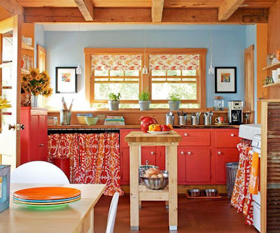 The Bold and Vibrant house colour