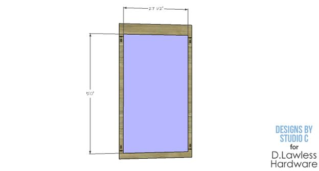 DIY Corkboard Plans - D. Lawless Hardware - Step 2