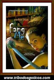 livro,parker blue,fang me