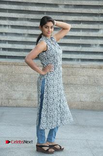 Telugu Television Actress Karuna Latest Pos In Denium Jeans  0109.JPG