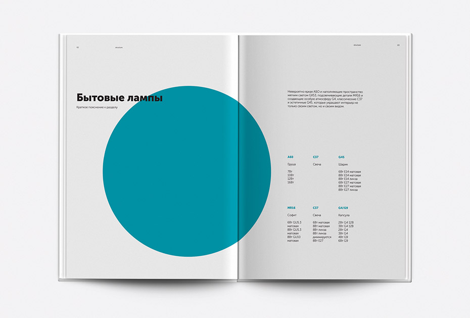 концепция каталога, креативная концепция, светодиодное оборудование Geniled