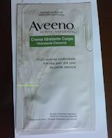 Foto Campioni omaggio Aveeno in consegna