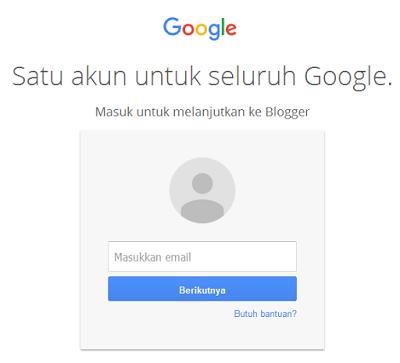 masuk ke akun Google