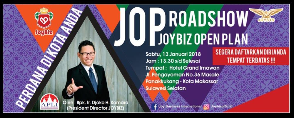 Presentasi Perdana Joybiz di Kota Makassar