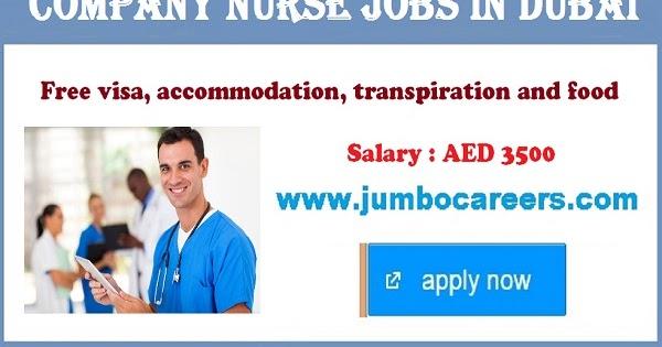 Nurse Job Vacancies in Dubai with Free Visa Accommodation