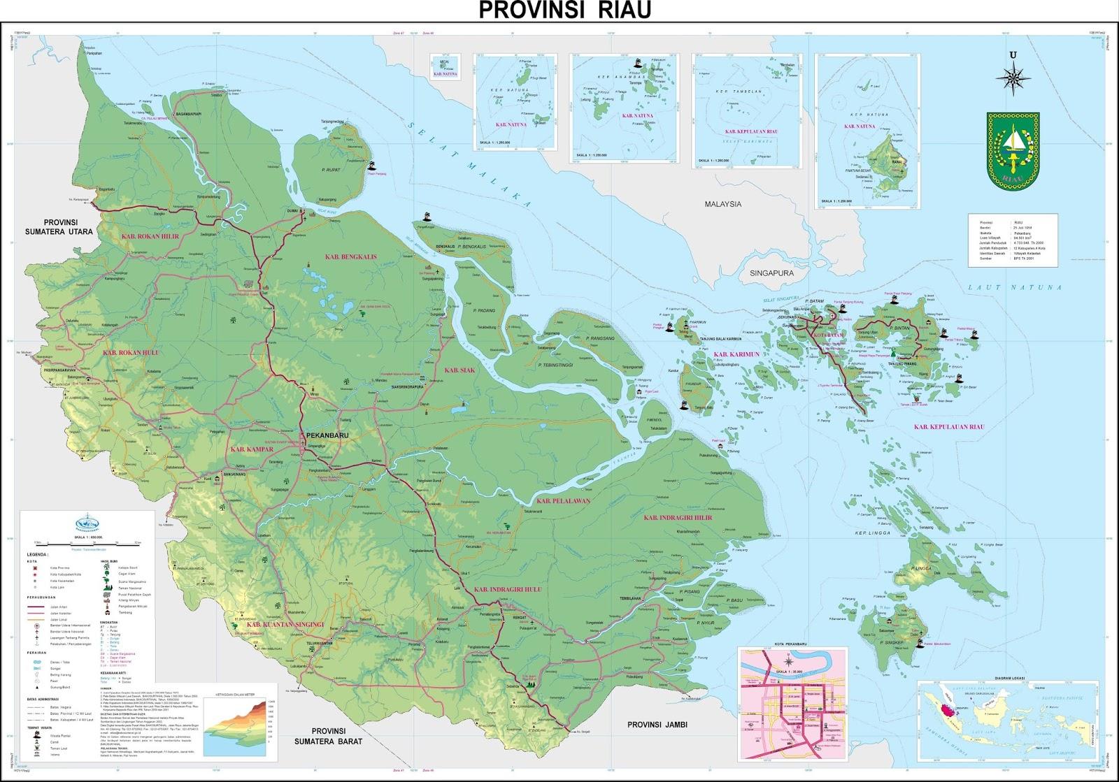 Kumpulan Sketsa Gambar Selat Peta Indonesia 34 Propinsi
