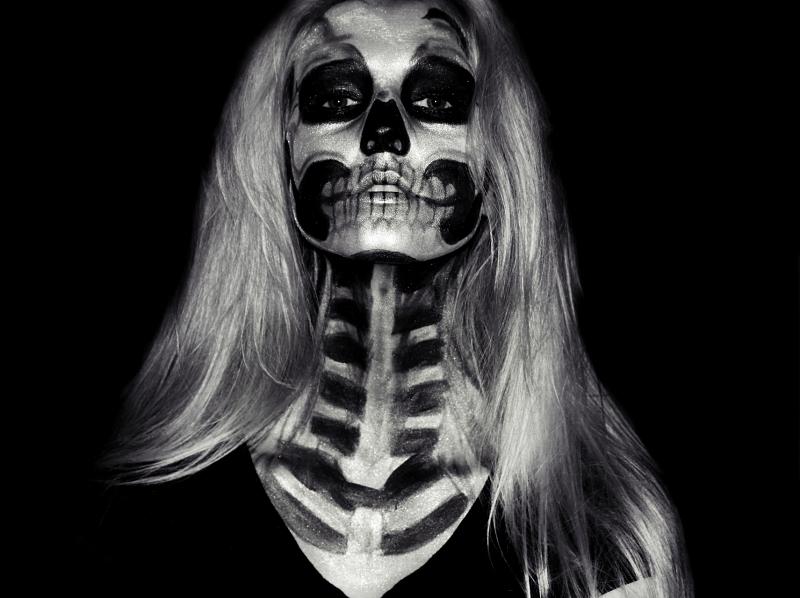 Halloween - Skull Makeup Tutorial