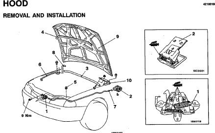 repair-manuals: Mitsubishi Lancer 1996 Repair Manual