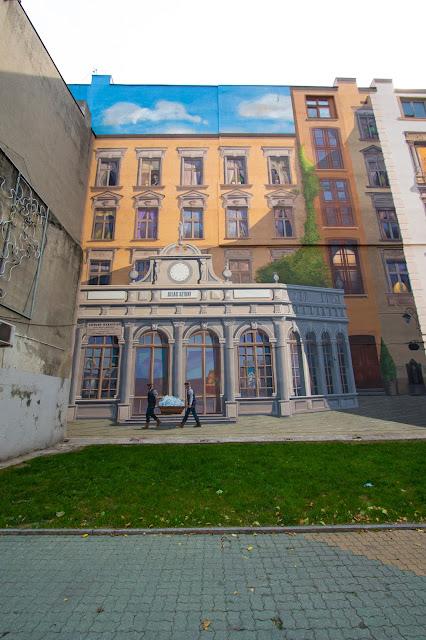 Murales su Ulica Piotrowska-Lodz
