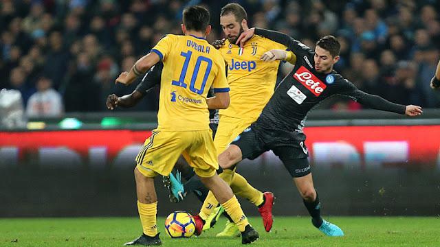 Video Cuplikan Gol Juventus 0-1 Napoli | Serie A Pekan ke 34