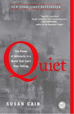 Quiet - The Power of Introverts by Susan Cain - book cover