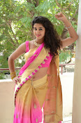 pavani new photos in saree-thumbnail-3