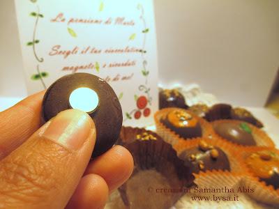 bomboniere pensione magneti cioccolatini