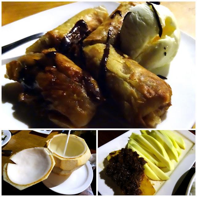 Turon Ice Cream Buko Juice Green Mango Shrimp Paste Lantaw Busay Cebu