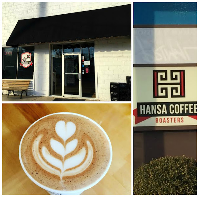 Hansa Coffee Roasters in Libertyville, IL.