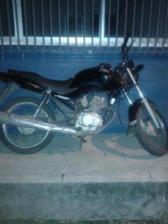 Polícia recupera mais uma moto roubada em Brejo
