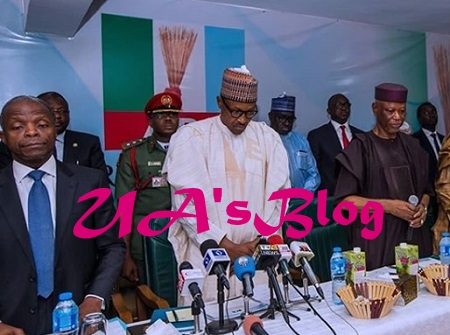 PHOTOS: Tinubu Shuns APC NEC Meeting Where Buhari, APC Extended Oyegun's Tenure