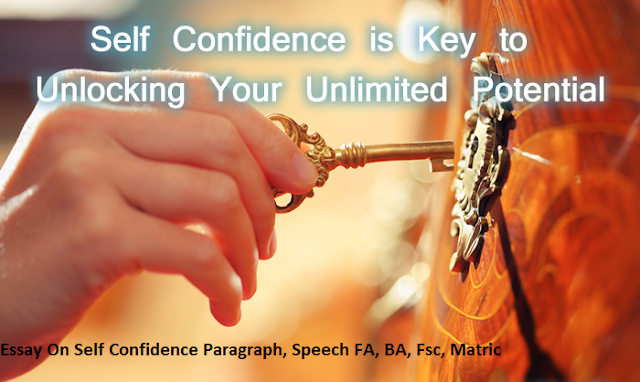 self confidence essays You can become self-confident learn how to gain self-confidence and self-esteem that will really last with our 3-step action plan and video.