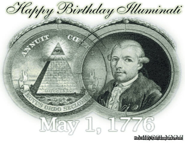 Happy birthday Illuminati
