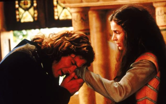 sebuah pelajaran untuk memenangkan hati dari Lancelot