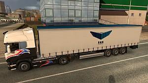 FAN Courier trailer mod
