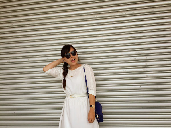 Outfit Diary : Shade of white | Hello March!