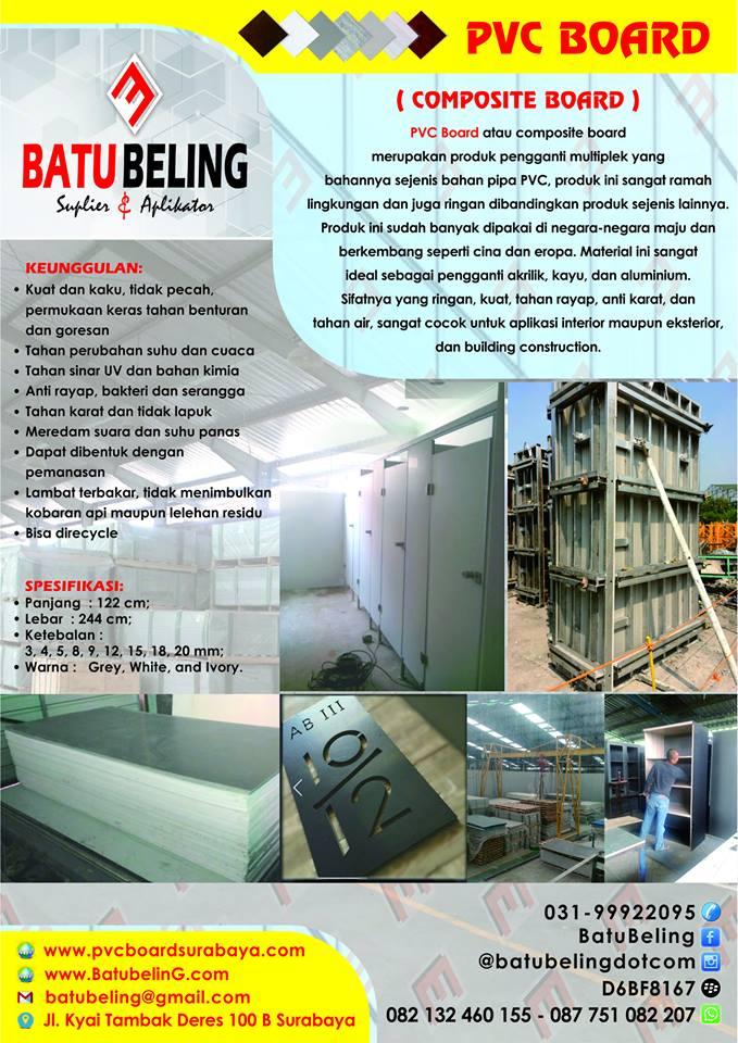 PVC Board Surabaya