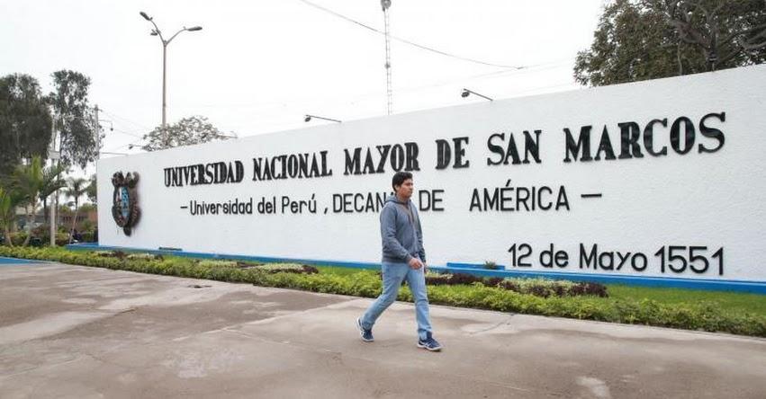 UNMSM: Postulantes a Examen de Admisión en San Marcos pasarán identificación facial - www.unmsm.edu.pe