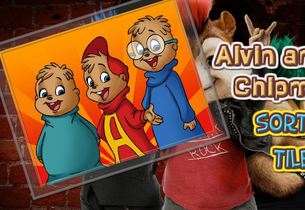 Sort My Tile Alvin And The Chipmunks game