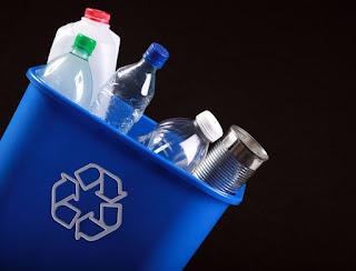Limbah plastik daur ulang