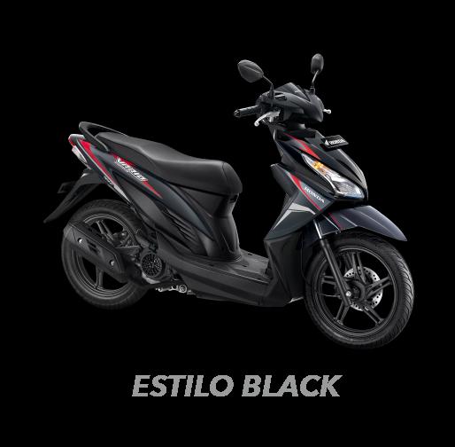 Honda Vario 110 ESP CBS ISS Black