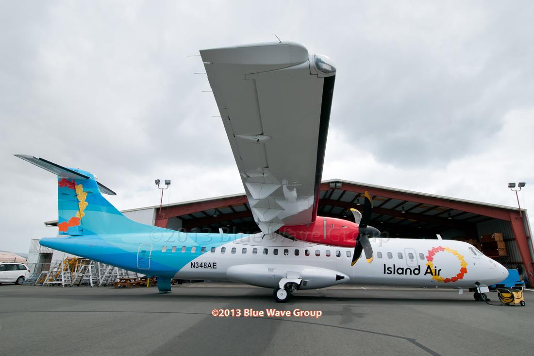 Request: Island Air Flight1 ATR-72
