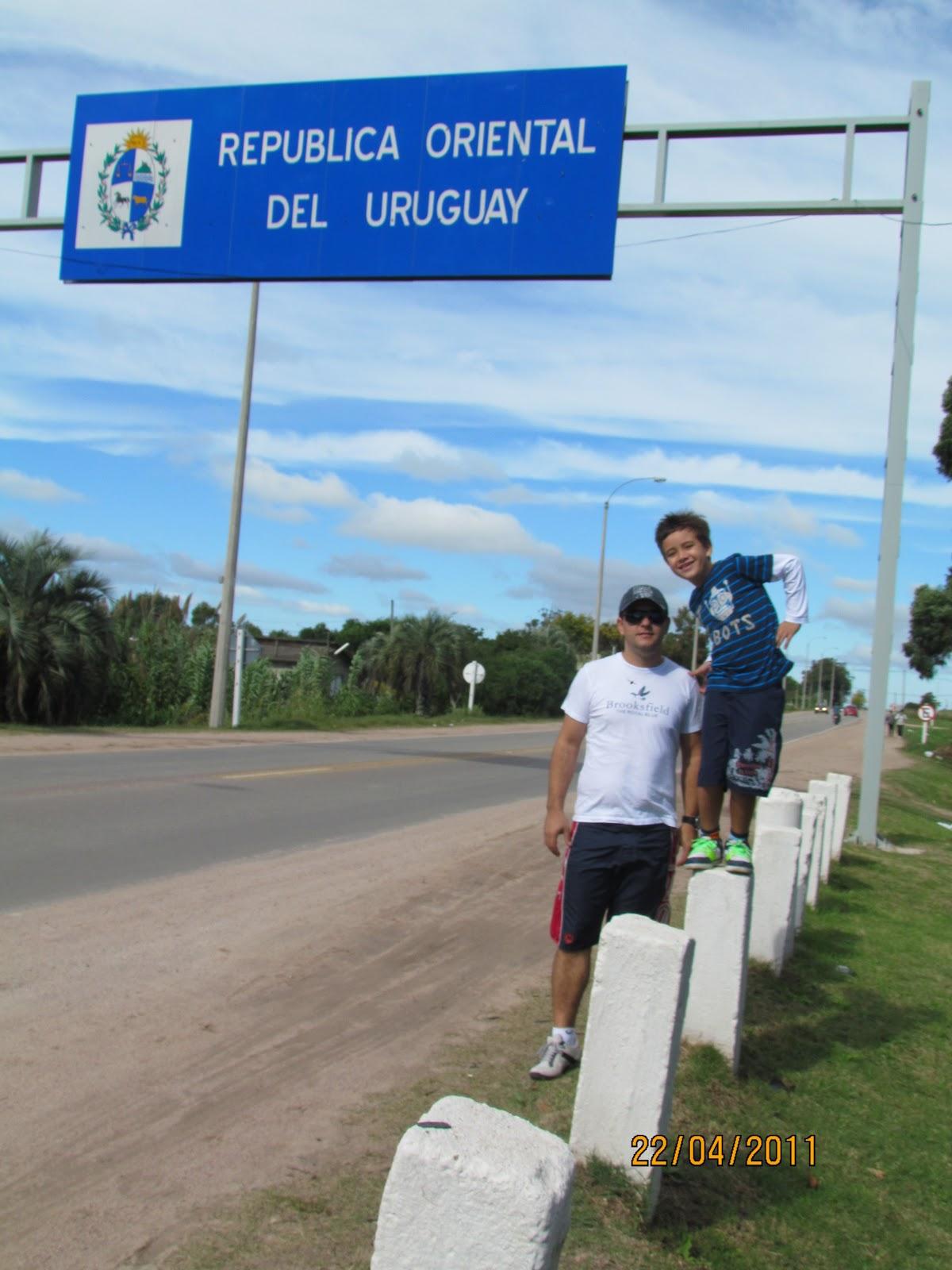 De carro até Montevidéu